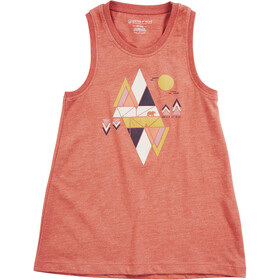 United By Blue Common Ground Tank Flickor canyon orange